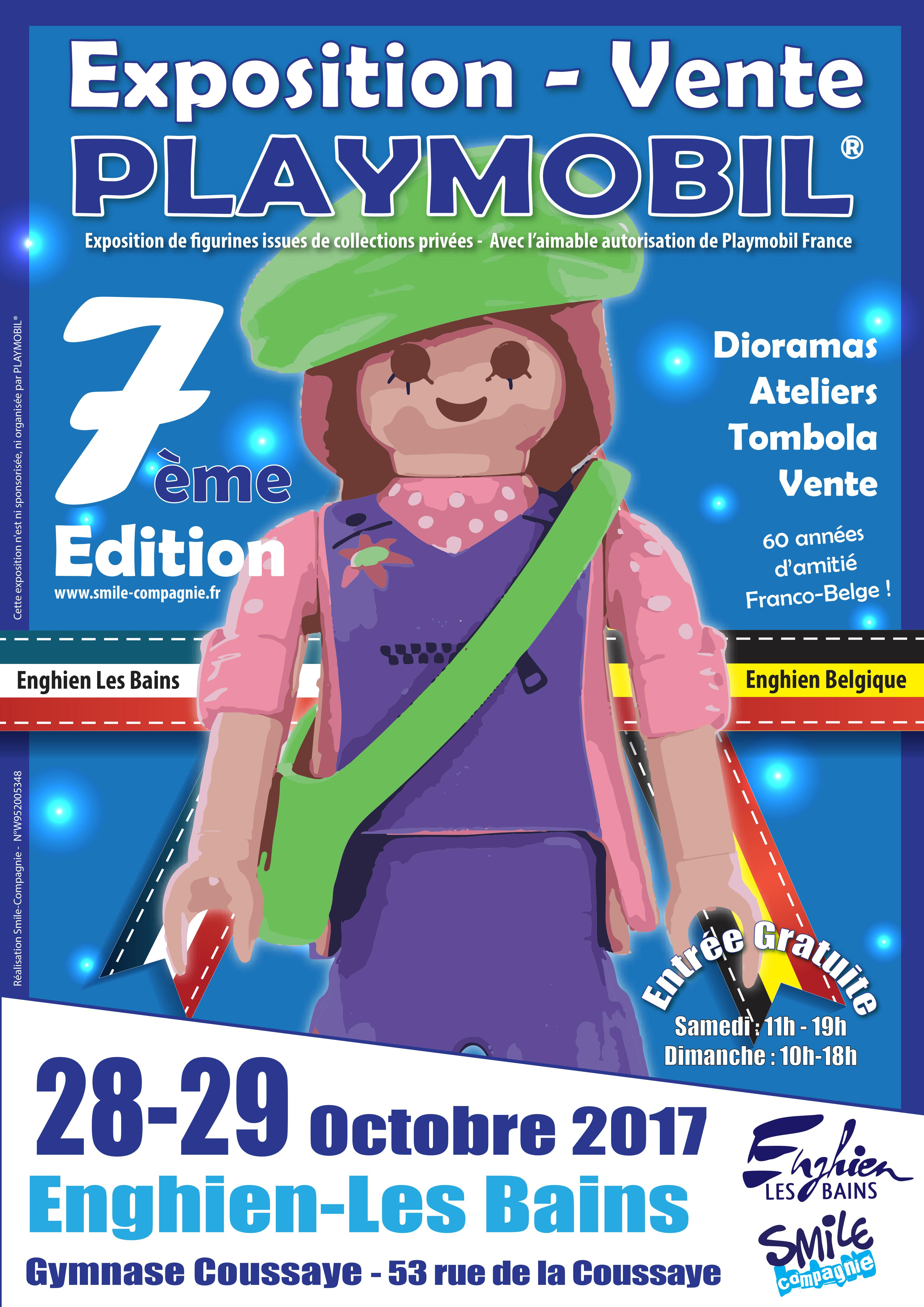 Exposition Playmobil Enghien 2017