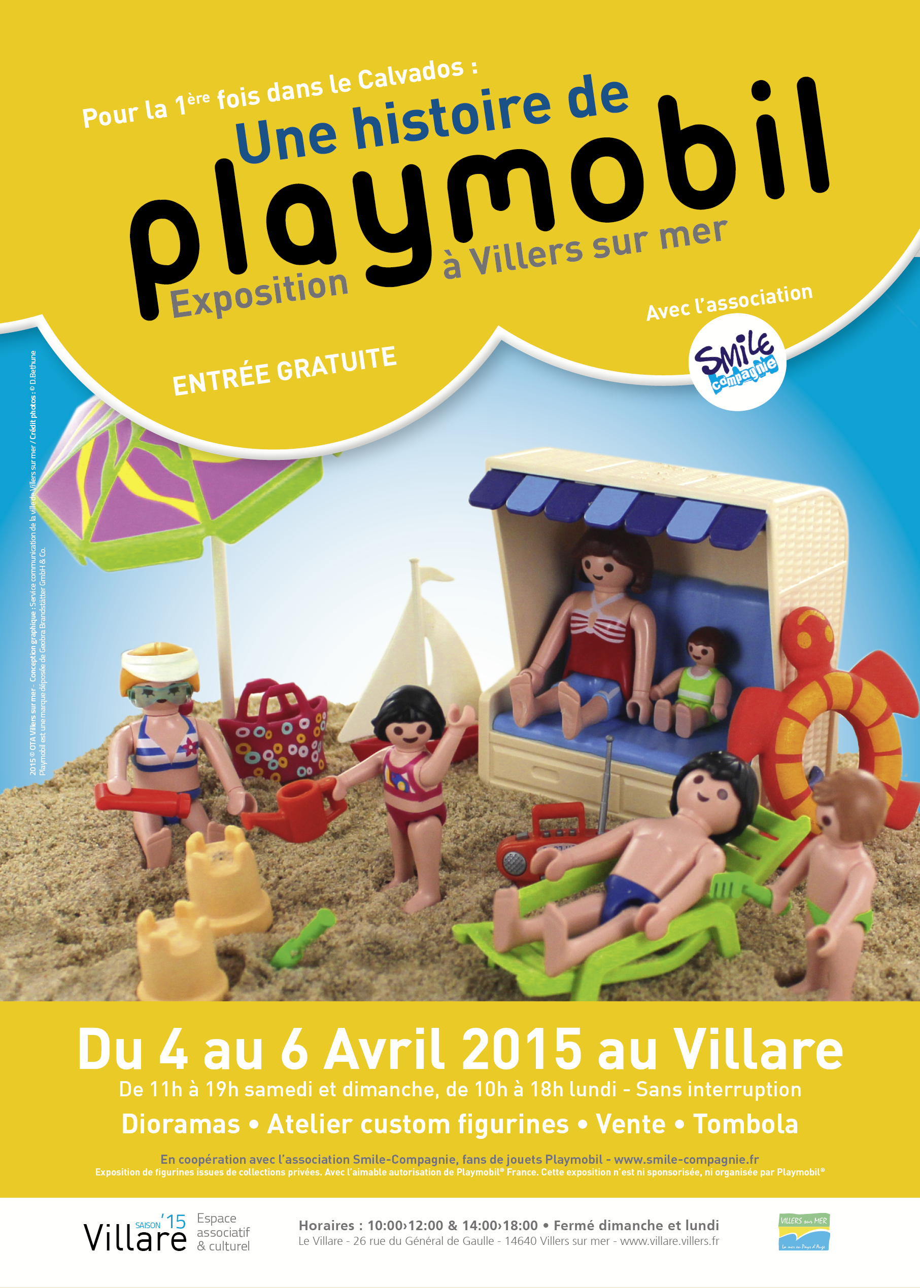 Exposition Playmobil Villers 2015