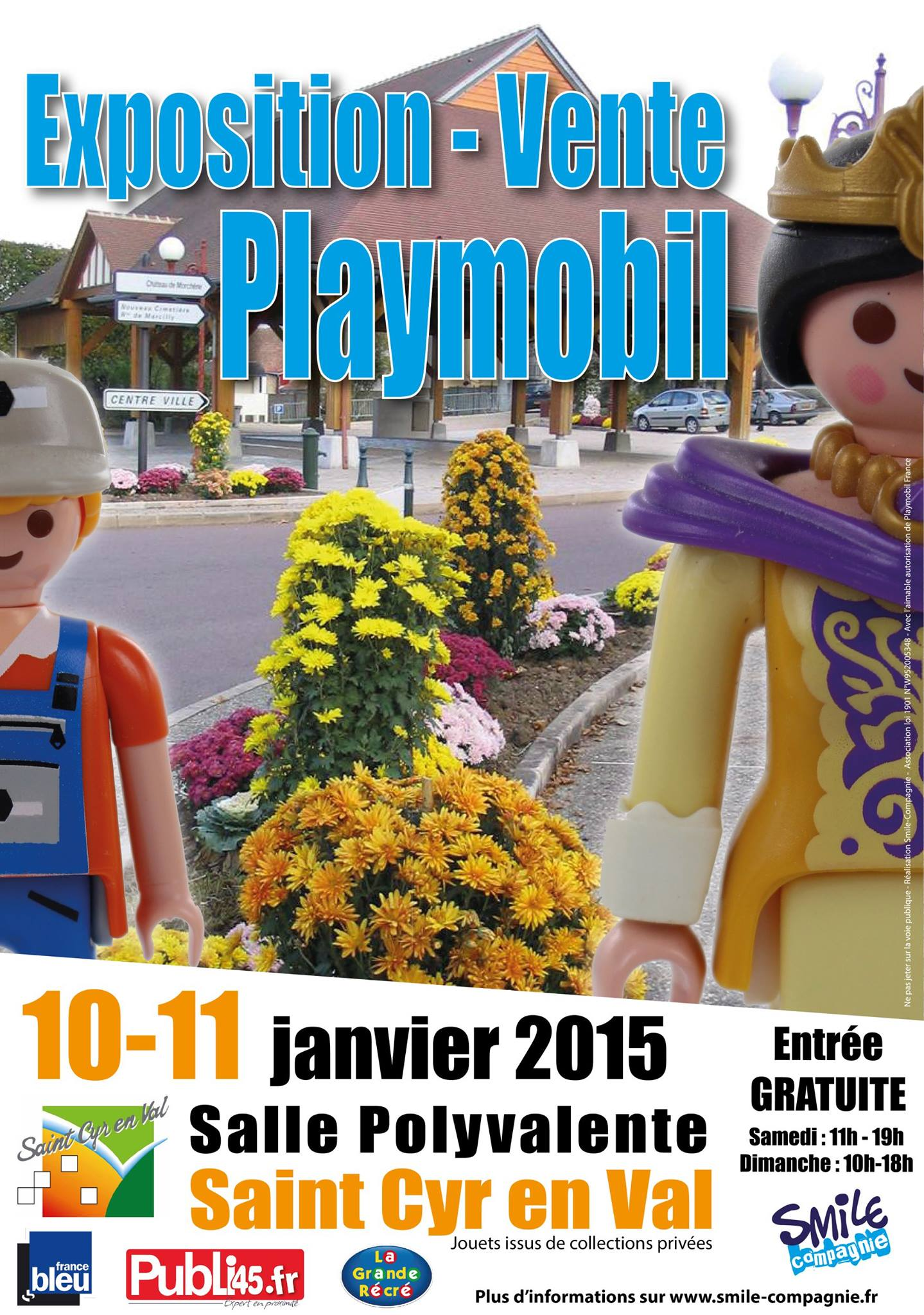 Exposition Playmobil Saint-Cyr-En-Val 2014